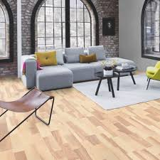White Engineered Wood Flooring Boen Ash Marcato White Pigmented 3 Strip Engineered Wood Flooring