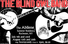 Blind Owl Band Upcoming Events U2013 The Blind Owl Band The Abilene Rochester Ny
