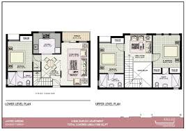 beautiful duplex apartment plans contemporary home decorating