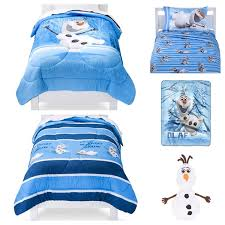 Frozen Bed Set Twin by Amazon Com Disney Frozen Olaf 6 Piece Twin Bed In A Bag Bedding