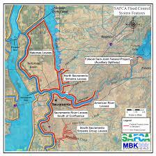 Virginia Beach Flood Map by Sacramento U0027s Flood Control System Under Pressure But Holding Up