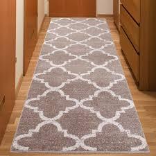 flur teppich läufer modern brücke flur teppich muster marokkanisch beige