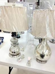 Mercury Glass Table Lamp Table Lamps Mercury Glass Table Lamp Sale Mercury Glass Table