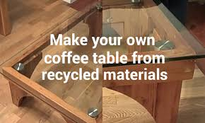 Make Your Own Coffee Table by Easy Home Tricks