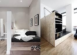 coin chambre dans salon créer un coin nuit dans un studio viving