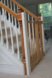 Best Stair Gate For Banisters Need To Install A Baby Gate But Don U0027t Want To Drill Into The