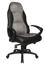 fauteuil pour bureau topstar fauteuil de bureau speed chair noir gris collishop