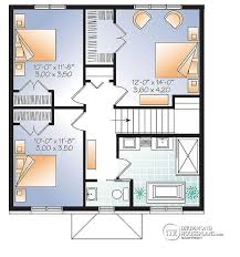 3 Bedroom Open Floor House Plans House Plan W3716 Detail From Drummondhouseplans Com