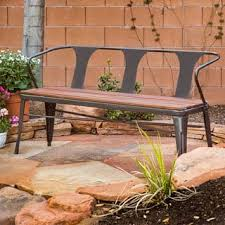 Wood Outdoor Bench Wood Outdoor Benches Shop The Best Deals For Nov 2017