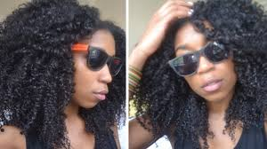 black hair for the beach no fuss quick summer beach curls natural hair youtube