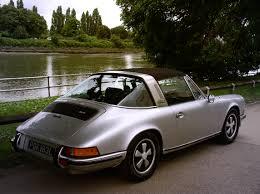 porsche targa 1995 classic chrome porsche 911 2 4t targa s spec 1973 l silver