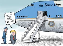 Air Force One Meme - trump s new airplane chappatte cartoons