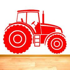 tractor farm vehicle boys wall sticker art decal vinyl stickers tractor farm vehicle boys wall sticker art decal vinyl stickers easy to apply