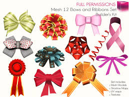 bows and ribbons second marketplace save big 12 bows and ribbons set of