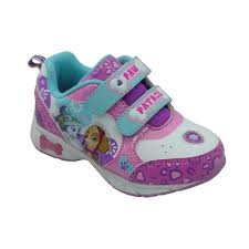 paw patrol toddler girls athletic shoe walmart