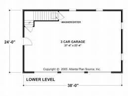 garage apartment plans 3 car garage apartment plan with brick