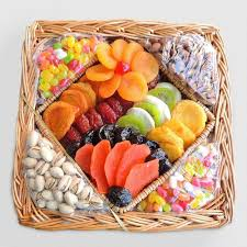 nuts gift basket dried fruit and nuts gift basket world market