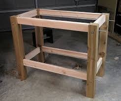 Free Plans Building Wood Workbench by 866 Best Workshop Workbenches Images On Pinterest Woodwork