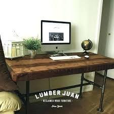 Diy Reclaimed Wood Desk Diy L Desk Ibbc Club