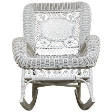 Modern Rocking Chair Png Viyet Designer Furniture Seating Vintage Rattan Rocking Chair