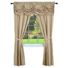 tan rod pocket curtains u0026 drapes window treatments the