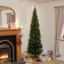 4ft clearance green pine pencil slim artificial tree ebay