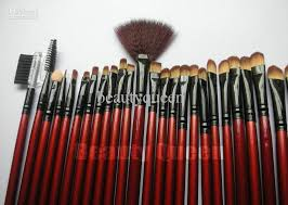 cheap professional makeup professional makeup brushes cosmetic set high quality goat hair
