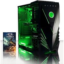 bureau pc gamer vibox fortis 6 pc gamer intel 4 gt 710 gaming ordinateur