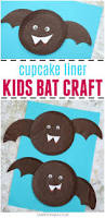 cupcake liner bat craft for kids bat craft kids bat and cupcake