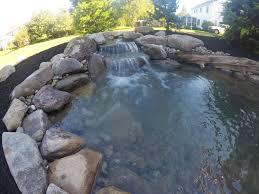 small backyard pond c e pontz sons landscape contractors