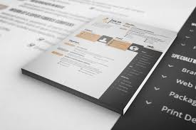 Resume Templates For Indesign Design Haven My Cv Resume Template A4 And Us Letter