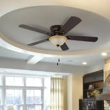 Lodge Ceiling Fans With Lights Lodge Ceiling Fan Wayfair