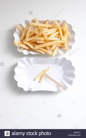 french fries on paper plates diet stock photo royalty free image