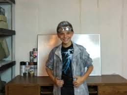 make your own quicksilver costume diy youtube