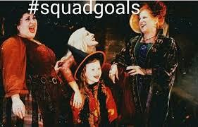 Hocus Pocus Meme - squad goals shared by rikki lynn on we heart it