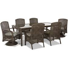klaussner outdoor amure 7pc dining set u2013 quality woods furniture
