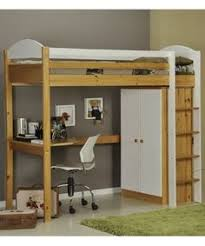 Kids Bunk Bed Desk Custom Made Dual Loft Beds With Desks Kids Room Decor