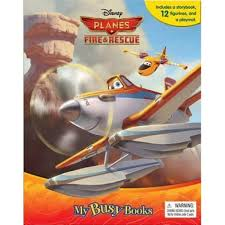 disney planes fire rescue busy book
