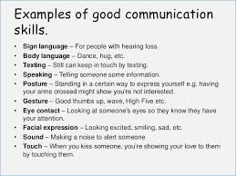 some exles of resume communication skills exles for resume globish me