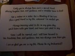 will you be my bridesmaid poems my diy will you be my bridesmaid cards