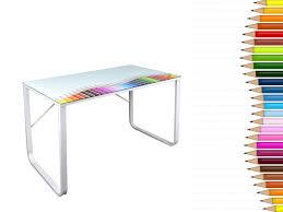plateau verre trempé bureau bureau plateau en verre trempé 8mm colours