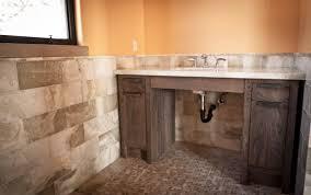 distressed wood bathroom vanity bathroom decoration