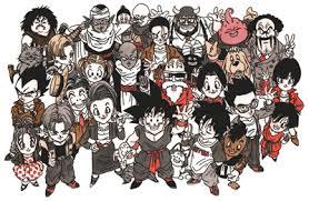list dragon ball characters