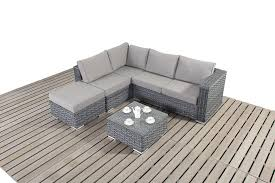Rattan Table L Furniture Comfortable Brown Rattan Garden Furniture With
