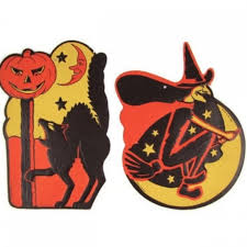 Vintage Outdoor Halloween Decorations by Vintage Halloween Paper Decorations Diy Outside Halloween