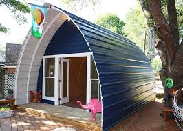 Hobbit Homes For Sale by Prefabricated Arched Cabins Can Provide A Warm Home For Under