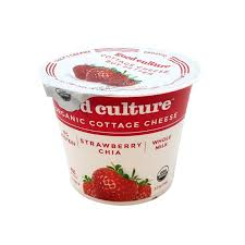 Cottage Cheese Low Fat by Good Culture Organic Strawberry Chia Lowfat 2 Cottage Cheese From
