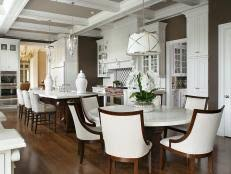 Kitchen Table With Built In Bench 20 Stunning Kitchen Booths And Banquettes Hgtv