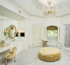 Bathroom Ottoman Bathroom Luxury White Marble Decorated Bathroom Features Golden