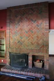 How To Cover Brick Fireplace by Brick Fireplace Keep Or Cover